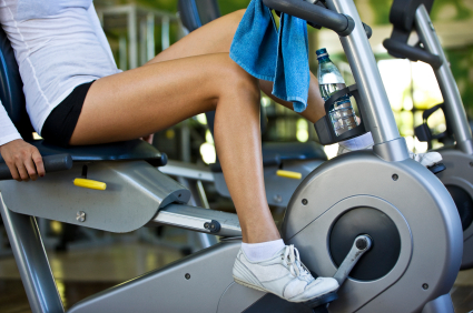 Interval Training on Exercise Bike